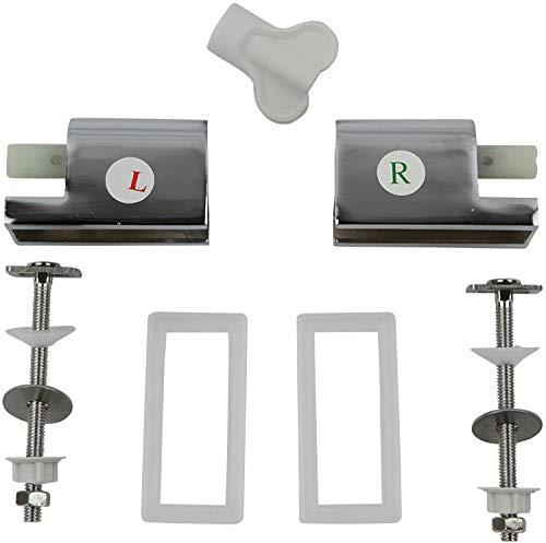 Sareno Absenkautomatik mit Montageset für Duroplast WC Sitze Ersatz
