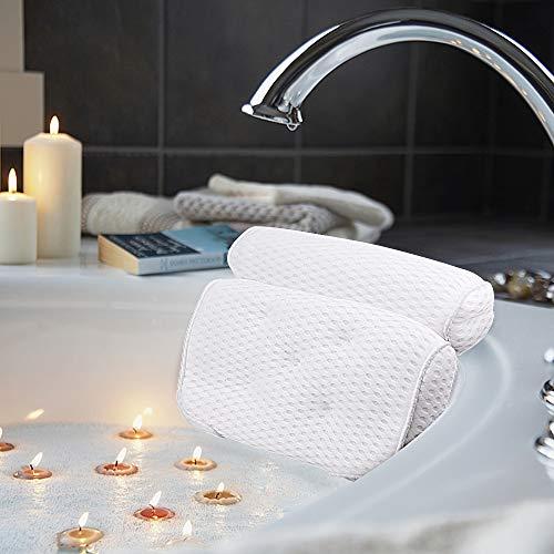 AmazeFan Badewannenkissen, Luxus Badewanne & Spa-Kissen mit...
