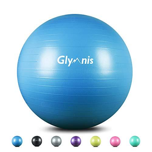 Glymnis Gymnastikball Sitzball 55cm 65cm 75cm Dicker Pilates Ball...