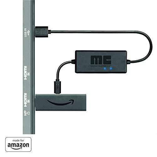 Mission USB Stromkabel - Ladekabel - Power Kabel für Amazon Fire TV...