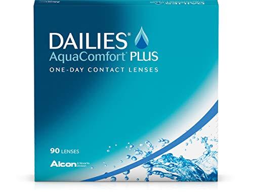 Dailies AquaComfort Plus Tageslinsen weich, 90 Stück, BC 8.7 mm, DIA...