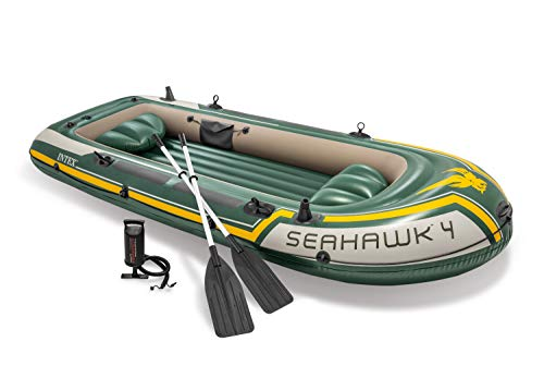 Intex Seahawk 4 Set Schlauchboot - 351 x 145 x 48 cm - 4-teilig -...