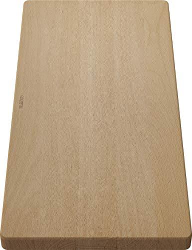 BLANCO 218313 Holzschneidbrett aus massiver Buche, passend Spüle,...