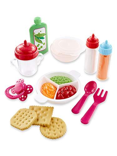 Vertbaudet Puppen-Set zum Füttern und Essen Mehrfarbig ONE Size