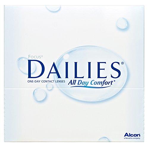 Focus Dailies All Day Comfort Tageslinsen weich, 90 Stück / BC 8.6 mm...