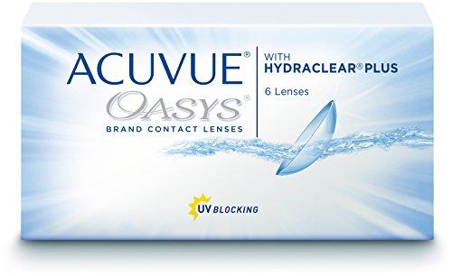Acuvue Oasys 2-Wochenlinsen weich, 6 Stück / BC 8.4 mm / DIA 14 / -3...