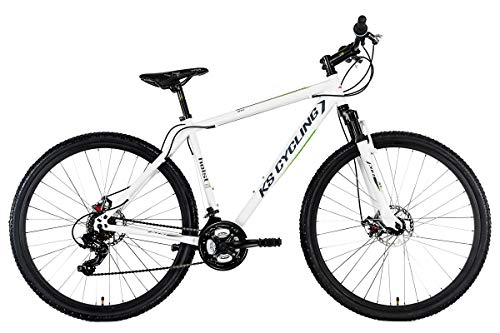 "KS Cycling Mountainbike MTB Hardtail Twentyniner 29"" Heist weiß..."