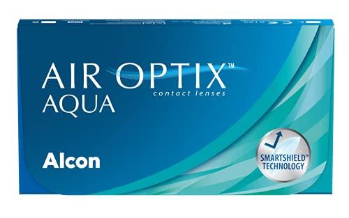 Air Optix Aqua Monatslinsen weich, 6 Stück / BC 8.6 mm / DIA 14.2 /...