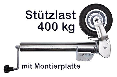 Otger Lensker PKW Anhänger Stützrad Automatik Wohnwagen Stützrad...