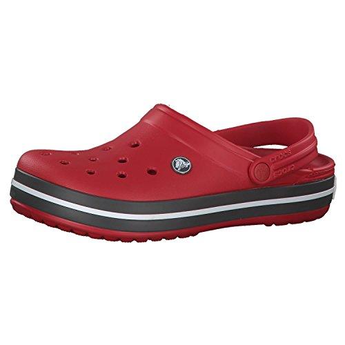 Crocs Unisex-Erwachsene Crocband Clogs, Pepper, 37/38 EU