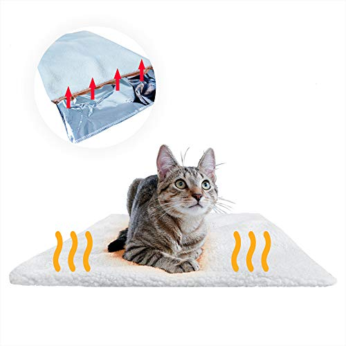 PiuPet® Premium Selbstheizende Decke für Katzen & Hunde, Größe:...