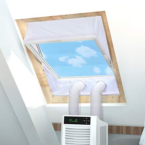Rhodesy Fensterabdichtung für Mobile Klimageräte Dachfenster, Hot...
