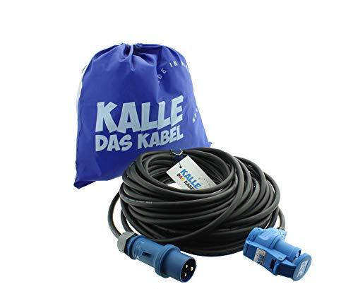 CEE-Verlängerungskabel Winkelkupplung Campingkabel Wohnmobil-Kabel...