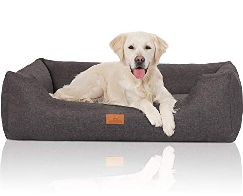 Knuffelwuff 14097-015 Hundebett Hundekörbchen Hundesofa Hundekissen...
