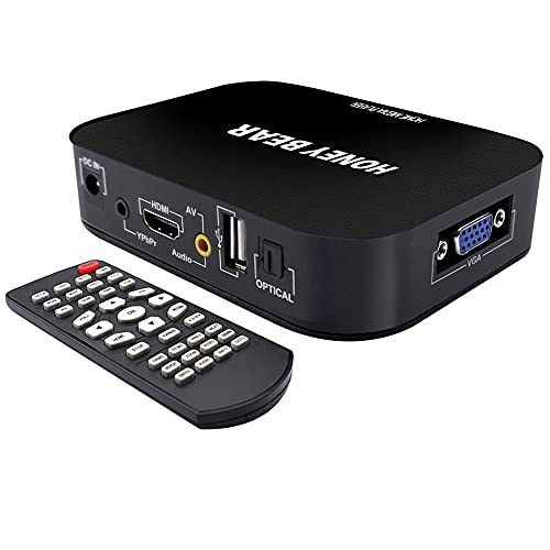 HONEY BEAR FULL HD 1080P Media Player TV BOX HDMI USB SD/MMC MKV Für...