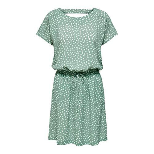 ONLY Damen Onlmariana Myrina S/S Det Noos Wvn Casual Dress, Chinois...
