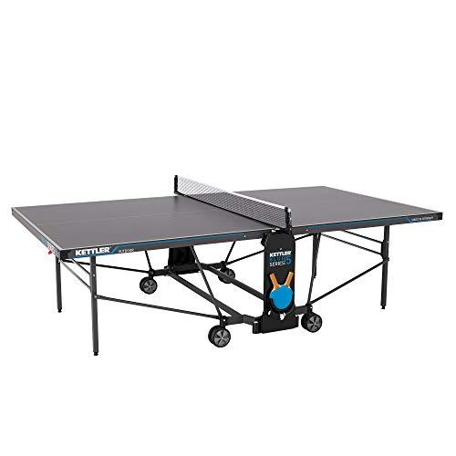 KETTLER K5, Outdoor Profi Tischtennisplatte, Turnierqualität, robuste...