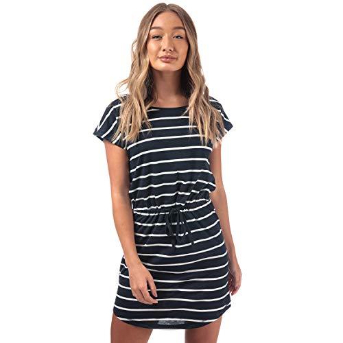 ONLY Damen Onlmay S/S Dress Noos Kleid, Mehrfarbig (Night Sky Stripes:...