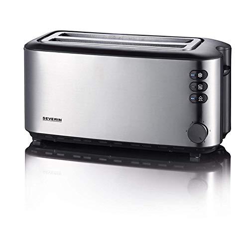 SEVERIN AT 2509 Automatik-Toaster (1.400 W, 2 Langschlitzkammern, für...