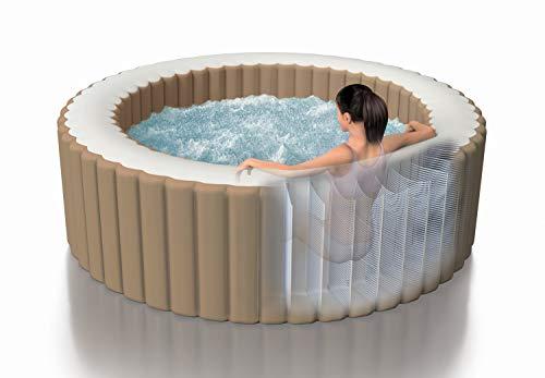 Intex Whirlpool Pure SPA Bubble Massage - Ø 216 cm x 71 cm, für 6...