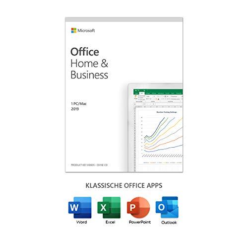 Microsoft Office 2019 Home & Business | multilingual, 1 PC (Windows...