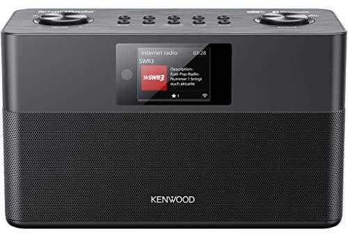 Kenwood CR-ST100S-B - SmartRadio mit DAB+, UKW, WLAN Internetradio,...