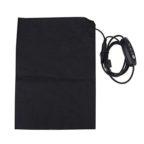 Kleidung Heizkissen, 5V 2A Leichte elektrische USB-Heizkissen Zubehör...