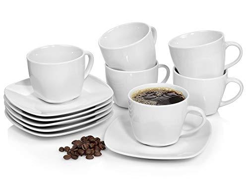 Sänger Kaffeeservice Bilgola 12 teiliges Kaffeetassen Set für 6...