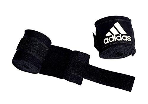 adidas Boxing Crepe Bandage New AIBA Rules, schwarz, 5.7 x 4.5 m