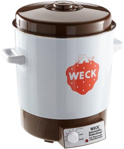 Weck WAT 14 Einkochautomat 2000 Watt ohne Uhr, Emaille, 230V