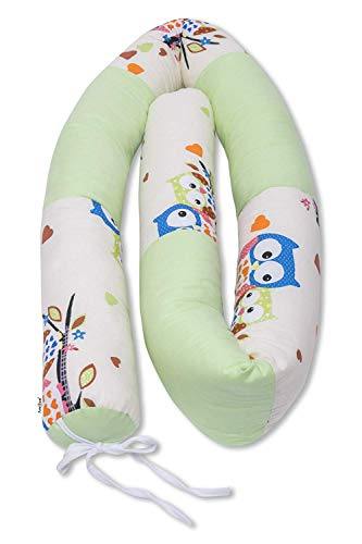 Bettschlange 210 cm, Nestchen für Babybett, Bettumrandung als...