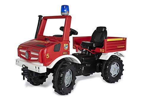Rolly Toys 038220 rollyUnimog FIRE Edition 2020 (Kinderunimog,...