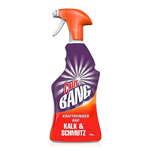 CILLIT BANG Kraftreiniger Bad Kalk & Schmutz – Spray für strahlend...