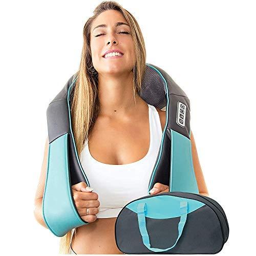 Nackenmassagegerät mit Wärmefunktion - Shiatsu Massagegeräte...