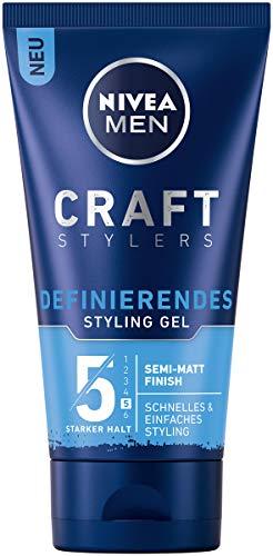 Nivea Men Craft Stylers Definierendes Styling Gel, Haargel mit...