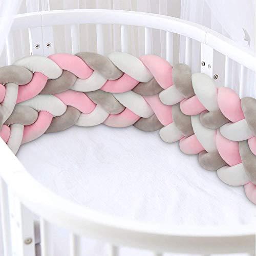 3M Bettschlange Luchild Bettumrandung Babybett Länge Baby Nestchen...