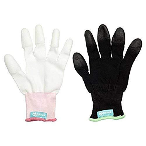 Apalus Hitzebeständige Handschuh, 2 Stück, Professional Haarglätter...