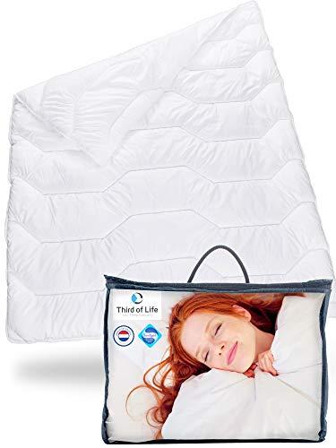 Bettdecke 135 200 Blanco | Flauschige Schlaf-Decke mit...