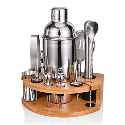 Cocktail Shaker Set,Esmula 750ML Edelstahl Barkeeper Kit...