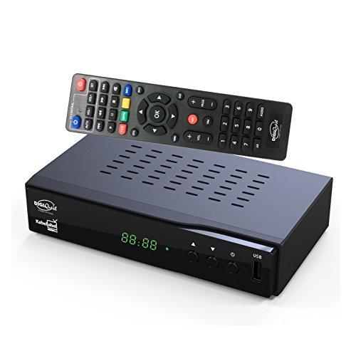 DigiQuest KabelAbel Full-HD Kabelreceiver Digital DVB-C...