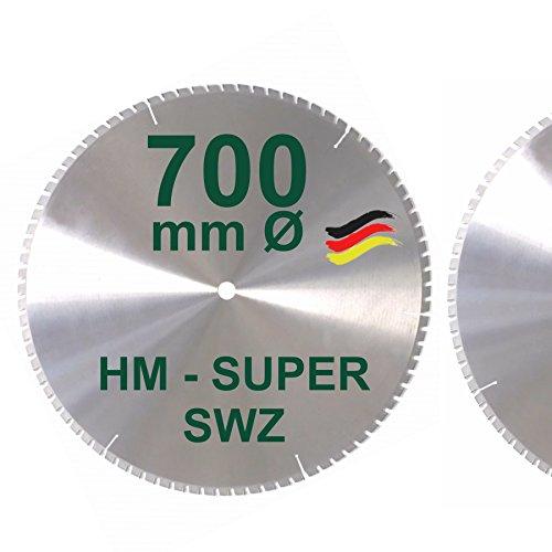 HM Kreissägeblatt 700 x 30 Z= 84 SWZ SUPER nagelfest Sägeblatt 700mm...