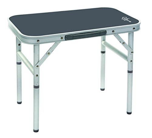 Bo-Camp Campingmöbel BC Tisch, abnehmbare Füße, Aluminium, 34x...
