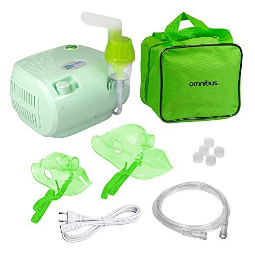 Omnibus BR-CN116B Inhaliergerät Inhalator Aerosol Therapie Vernebler...