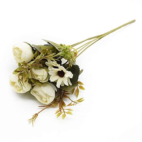 WUCHENG Multicolor Tee Rosen Vasen für Dekoration Zubehör...