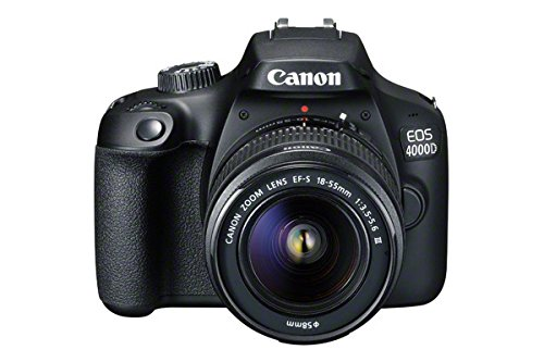Canon EOS 4000D DSLR Camera and EF-S 18-55 mm f/3.5-5.6 III Lens -...