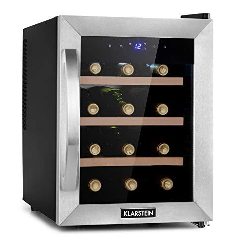 Klarstein Reserva Uno Weinkühlschrank, 31 Liter / 12 Flaschen,...