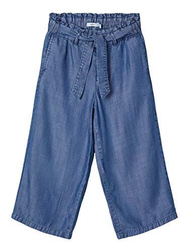 NAME IT Girl Jeans Regular Fit Culotte 128Medium Blue Denim