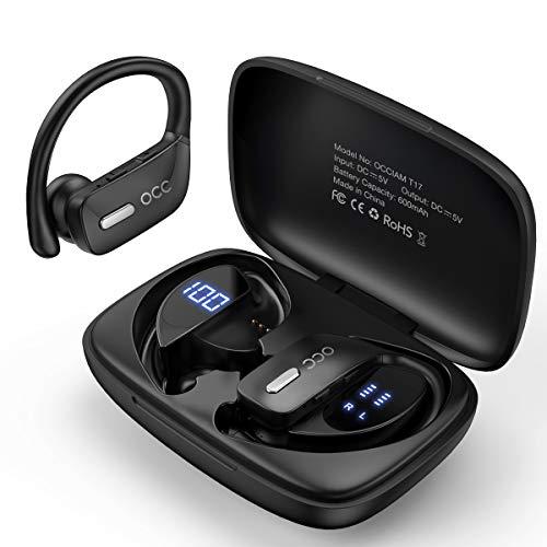 Bluetooth Kopfhörer Occiam 48H kabellose kopfhörer TWS Deep Bass in...
