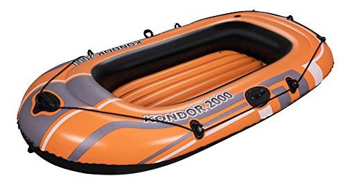 Bestway Schlauchboot Kondor 2000, für 1 Erwachsenen und 1 Kind, 188 x...