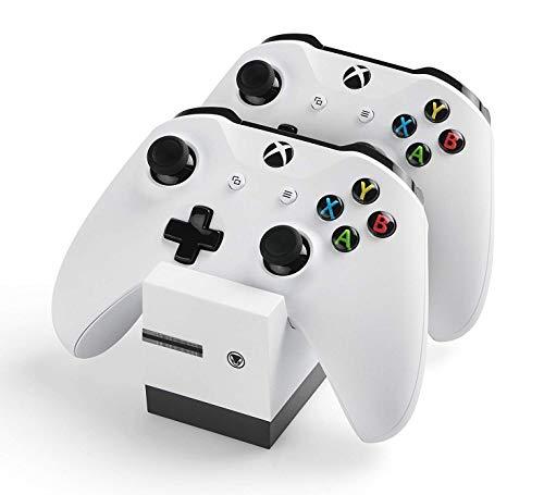 snakebyte Xbox One TWIN:CHARGE X - weiß – Ladegerät/Ladestation...